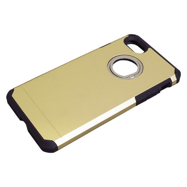 iPhone8/7用ジャケット リング付き ハイブリッド耐衝撃